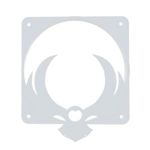 Bitfenix owl wit fan grill 120mm