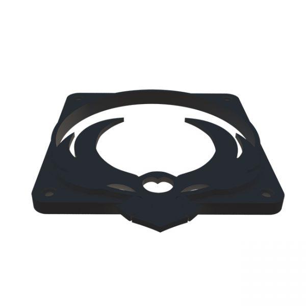 Bitfenix owl zwart fan grill 120mm