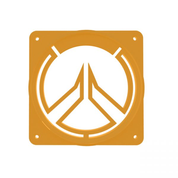 Overwatch fan grill Oranje 120MM